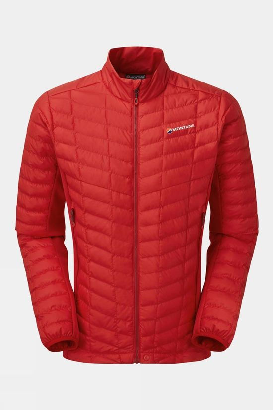 Montane Mens Icarus Stretch Micro Jacket Alpine Red