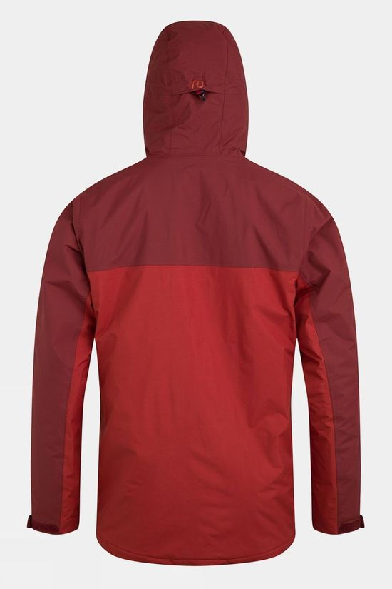 Berghaus Mens Deluge Pro 2.0 Insulated Jacket Red Ochre/Russett Brown