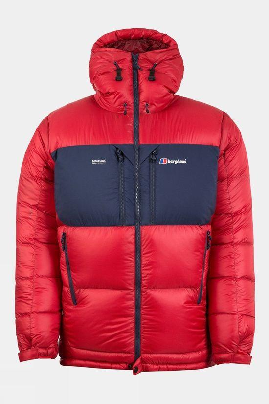 Berghaus Ramche Trans-Antarctic Reflect Down Jacket Haute Red/Dusk