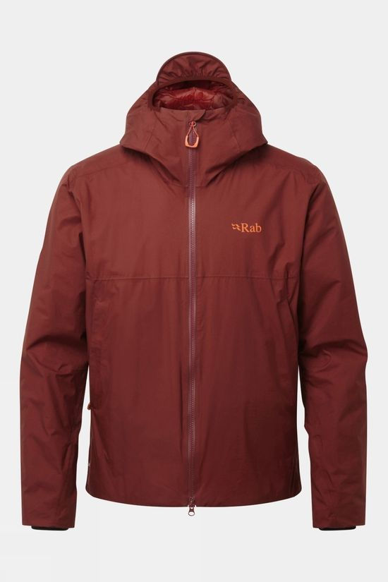 Rab Mens Khroma Kharve Jacket Oxblood Red