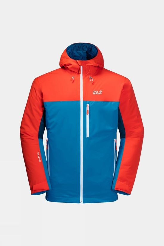 Jack Wolfskin Mens Eagle Peak Insulated Jacket Blue Pacific