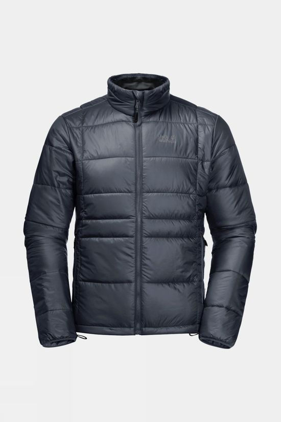 Jack Wolfskin Mens Argon Jacket Ebony