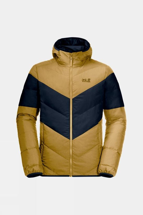 Jack Wolfskin Mens Barrow Bay Jacket Golden Amber