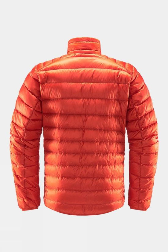 Haglofs Mens Roc Down Jacket Habanero
