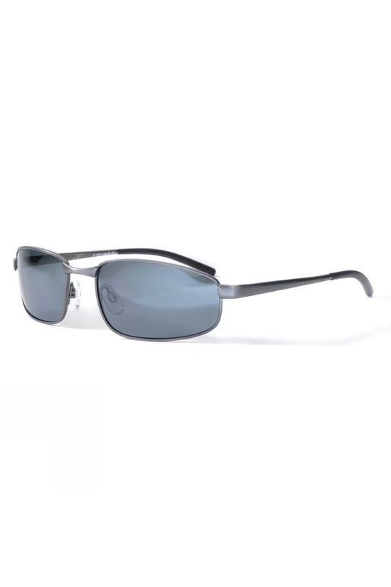 Bloc Square Sunglasses Gun/Polarised