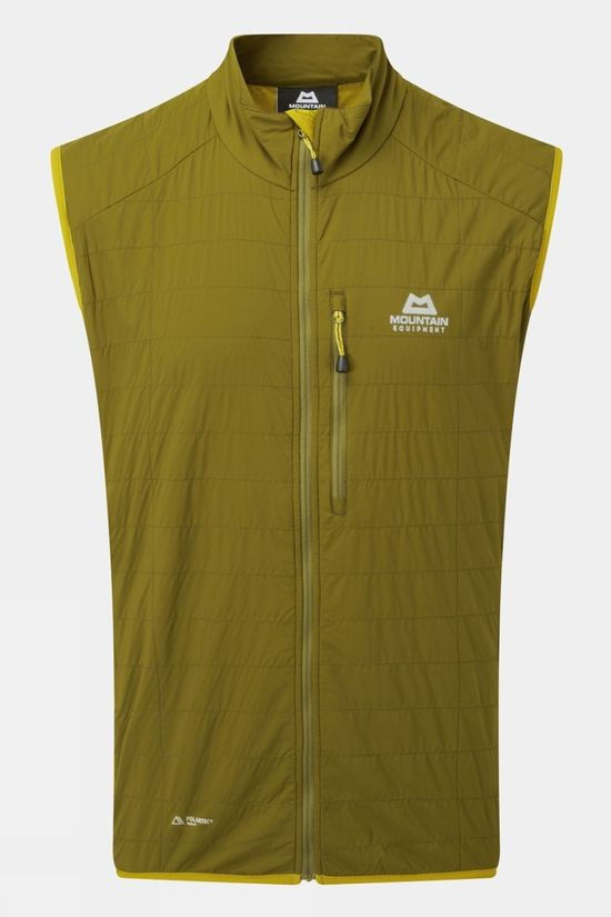 Mountain Equipment Mens Switch Vest Fir Green/Acid