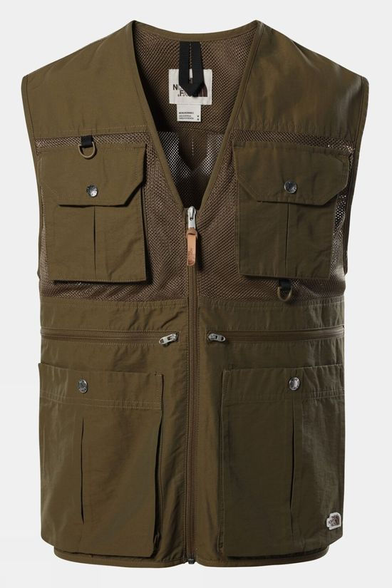 The North Face Mens Cadero Vest Military Olive
