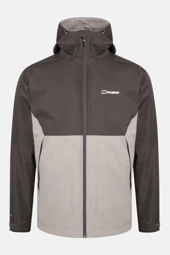Berghaus Mens Fellmaster 3-in-1 Jacket Monument/Grey Pinstripe