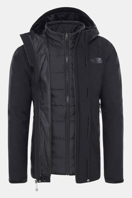 The North Face Mens Carto Zip-In Triclimate Jacket Tnf Black/Tnf Black