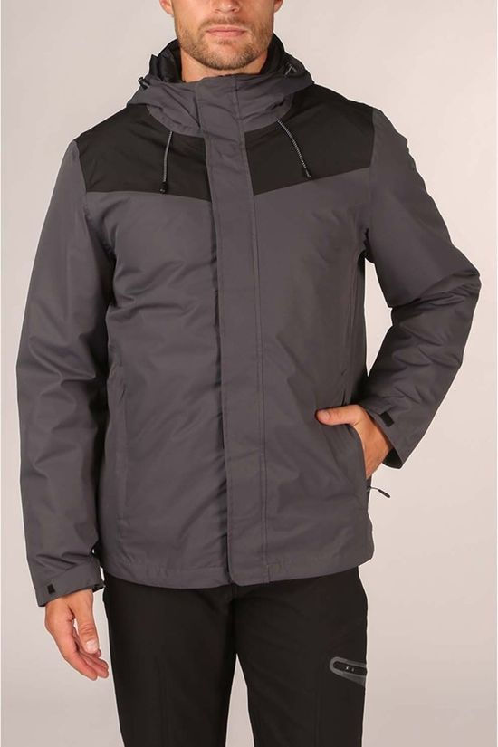 Our Planet Mens Cambrium 3in1 Jacket Ebony