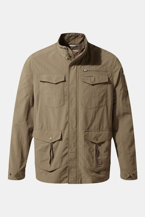Craghoppers Mens NosiLife Adventure Jacket II Pebble