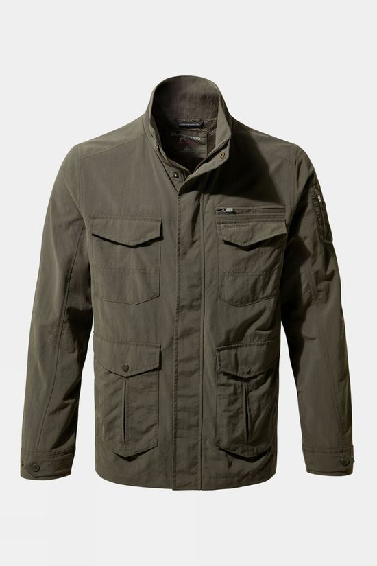 Craghoppers Mens NosiLife Adventure Jacket II Woodland Green