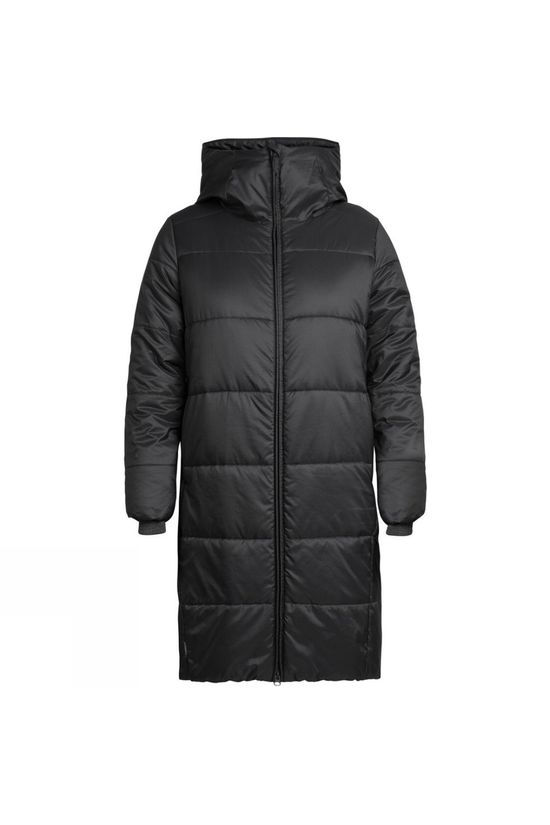 Icebreaker Womens Collingwood 3Q Hooded Jacket Black