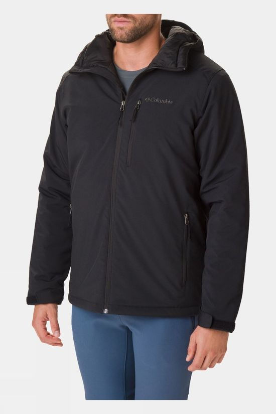 Columbia Mens Gate Racer Softshell Jacket Black
