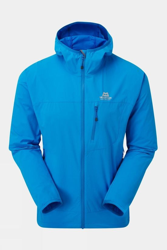 Mountain Equipment Mens Echo Hooded Jacket Finch Blue