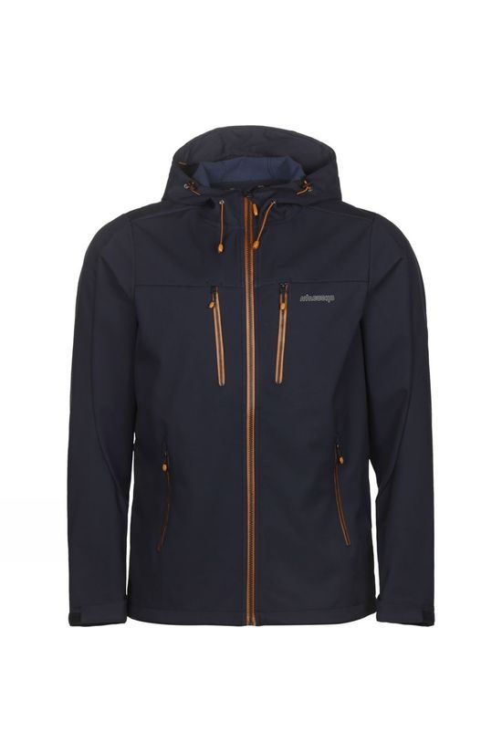 Ayacucho Mens Gale Softshell Jacket Dark Navy