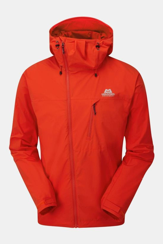 Mountain Equipment Mens Squall Hooded Jacket Cardinal Orange