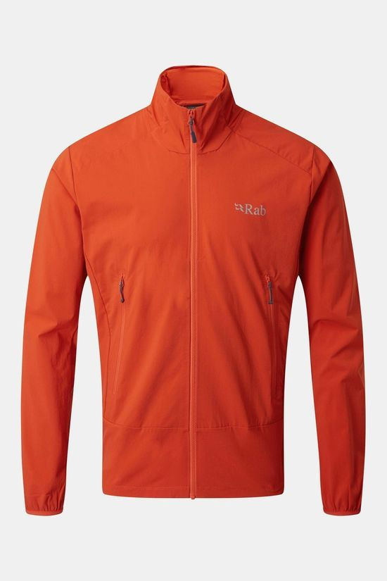Rab Mens Borealis Tour Jacket Firecracker