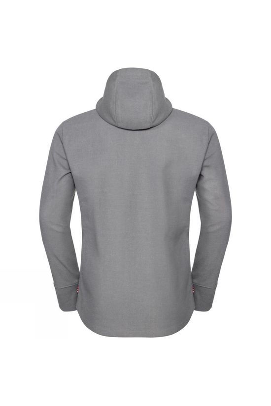 Odlo Mens Union Jacket Odlo Concrete Grey Melange