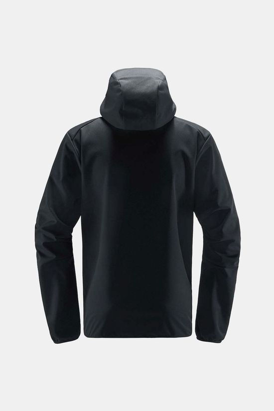 Haglofs Multi Flex Hooded Jacket True black