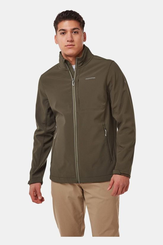 Craghoppers Mens Altis Jacket Woodland Green Marl