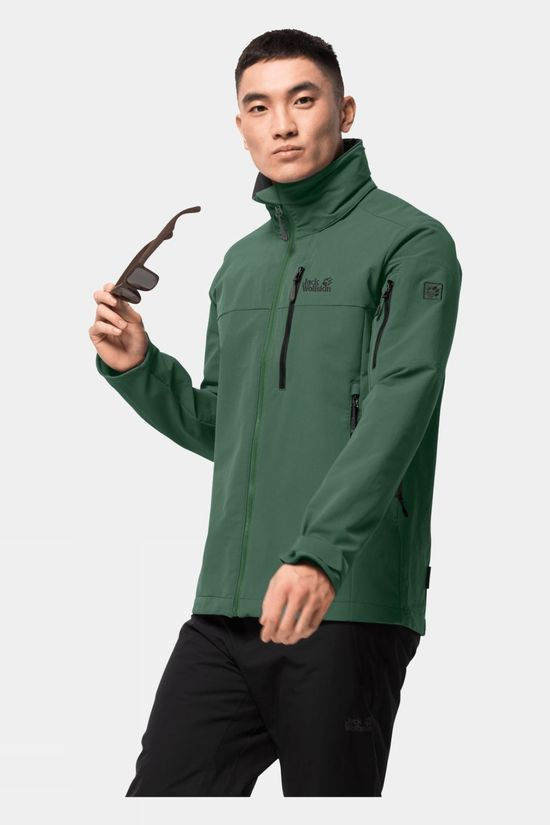 Jack Wolfskin Mens Edward Peak Jacket Sage