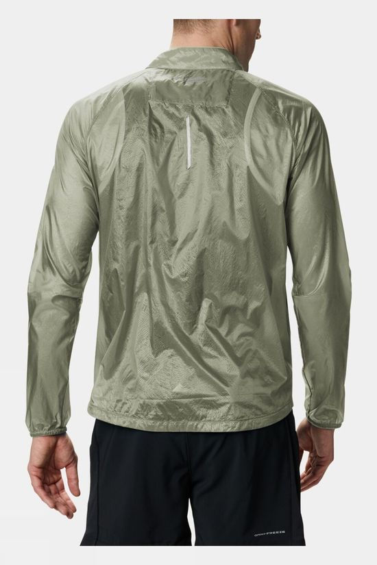 Columbia Mens FKT Windbreaker Jacket Cypress