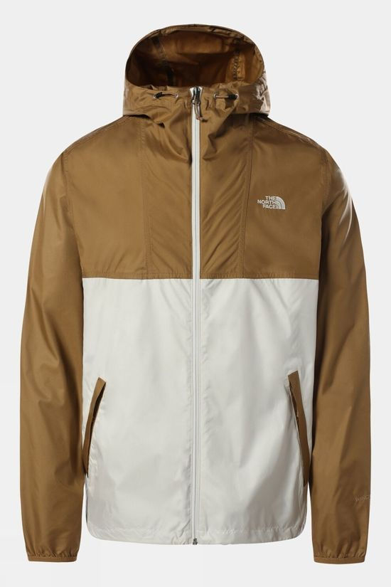 The North Face Mens Cyclone Jacket Utility Brown/Vintage White
