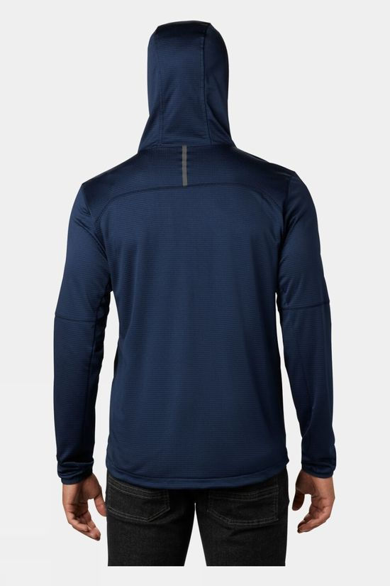 Columbia Mens Tech Trail™ FZ Hoodie Collegiate Navy