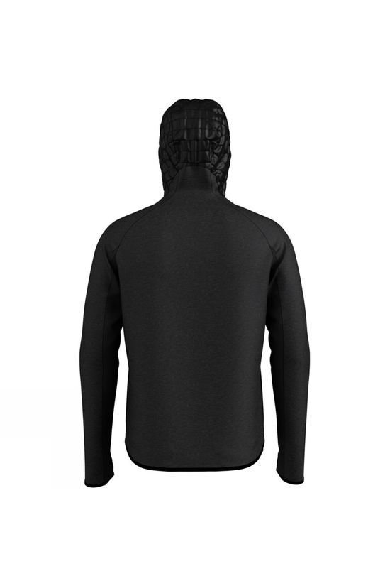 Odlo Mens Simon Midlayer Hoody Black Melange