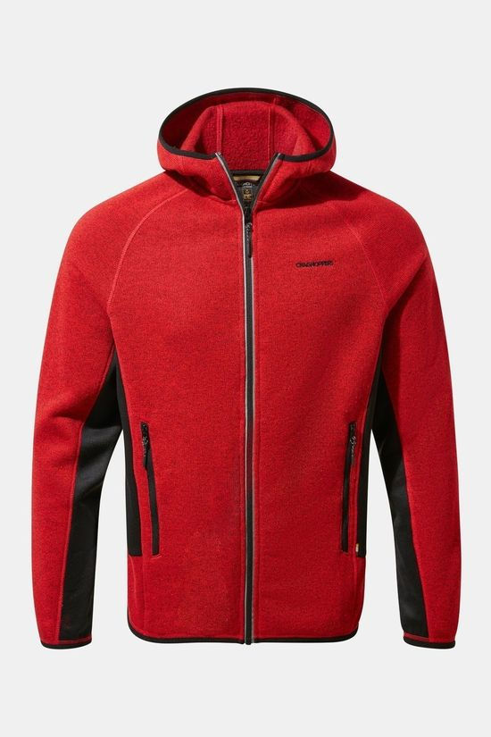 Craghoppers Mens Mannix Fleece Sriracha Marl