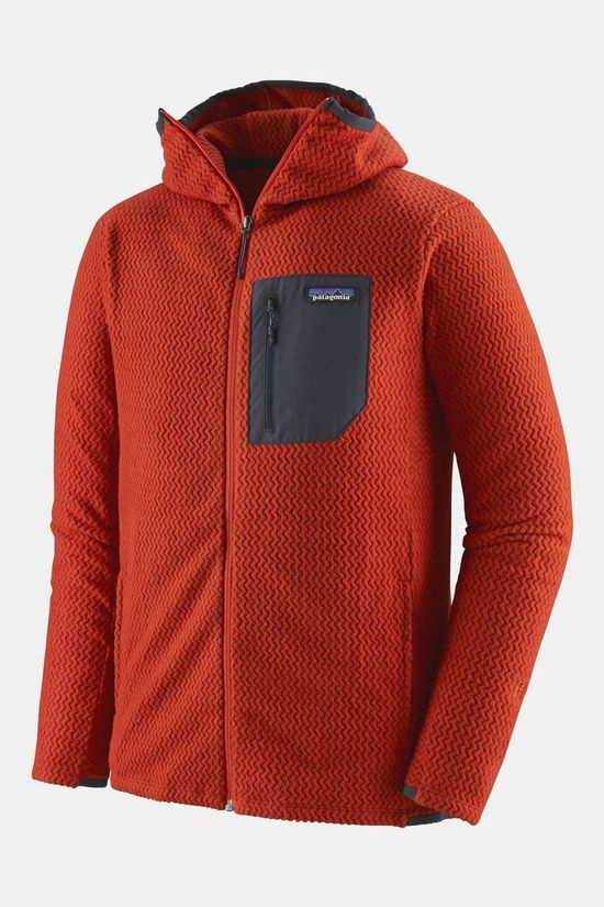 Patagonia Men's R1 Air Full-Zip Hoody Hot Ember