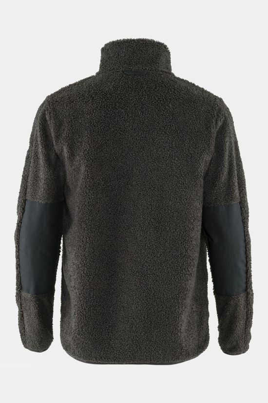 Fjallraven Mens Greenland Pile Fleece Dark Grey