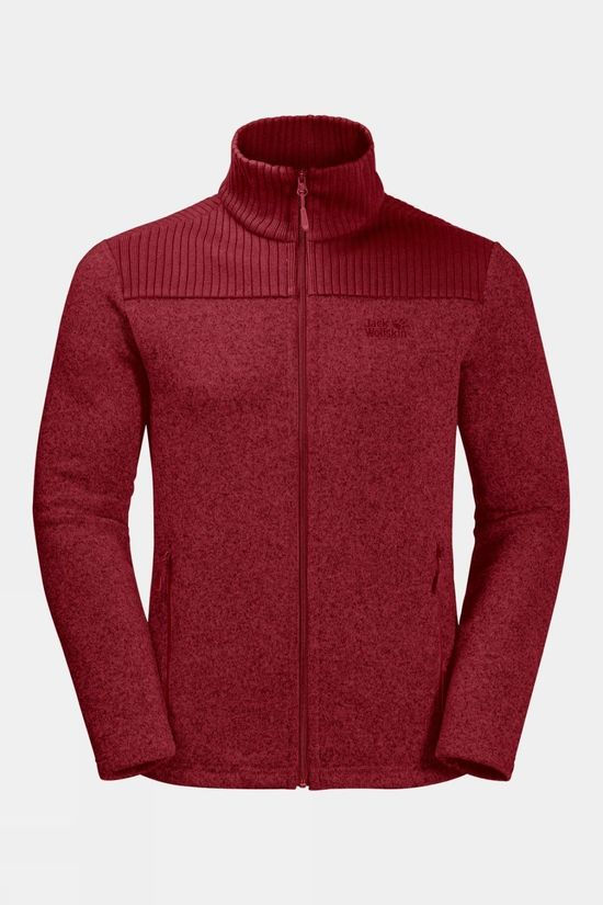 Jack Wolfskin Scandic Jacket Dark Lacquer Red