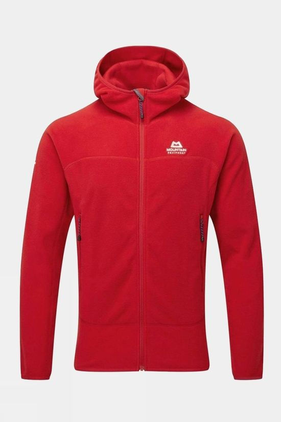Mountain Equipment Mens Micro Zip Jacket Barbados Red