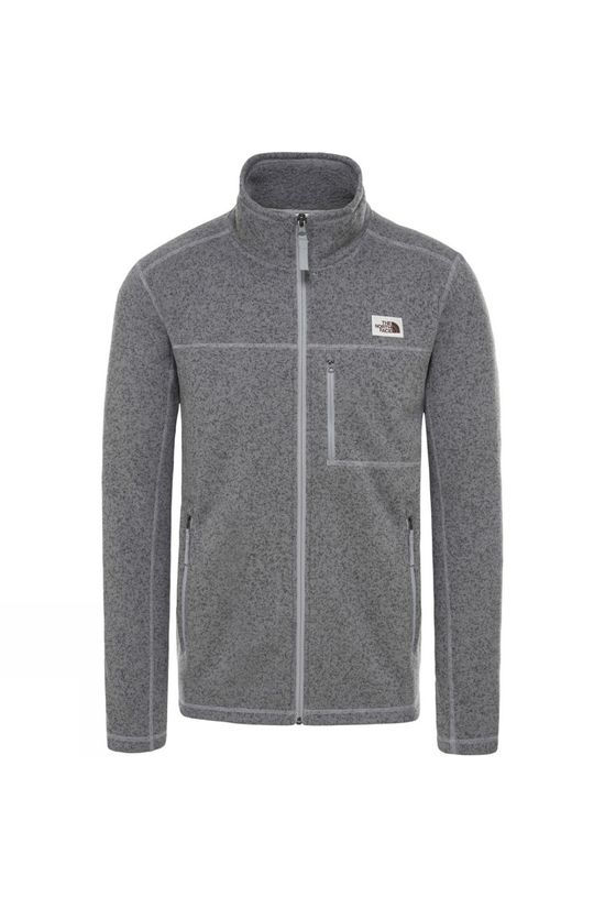 The North Face Mens Gordon Lyons Full Zip Fleece Tnf Medium Grey Heather
