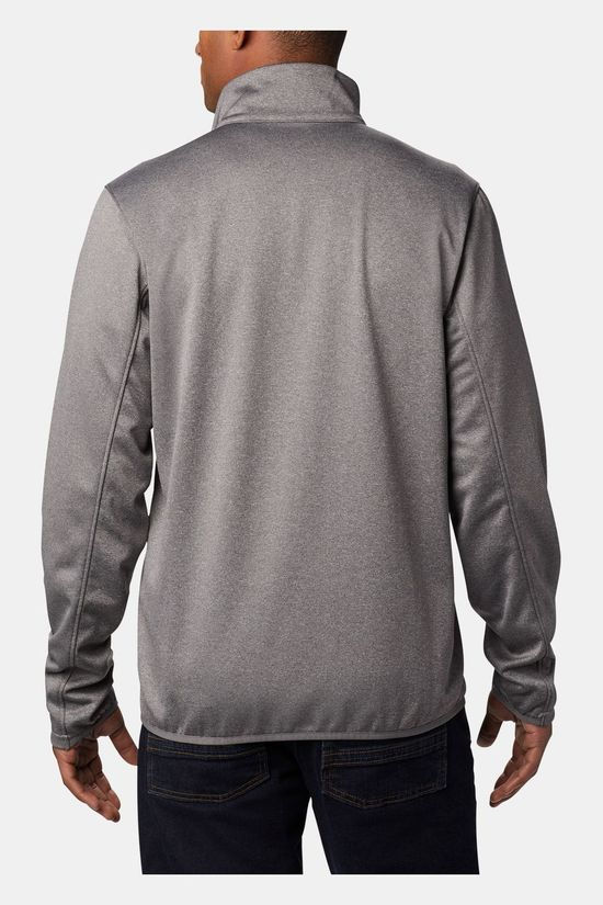 Columbia Mens Outdoor Elements Full Zip City Grey