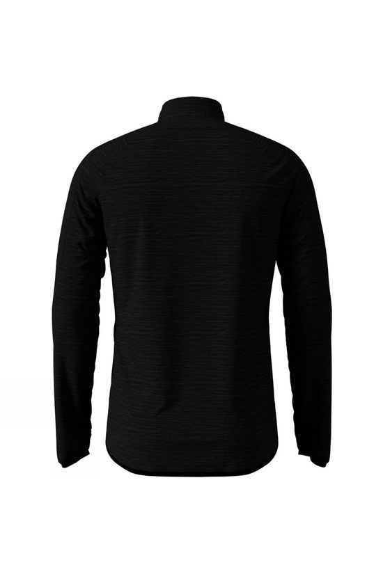 Odlo Mens Steam Midlayer Black Melange