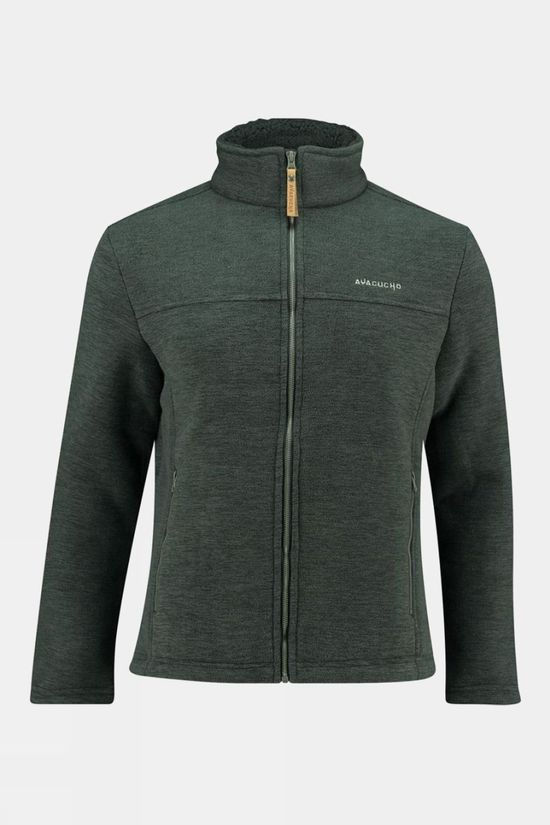 Ayacucho Mens Cuddle II Jacket Dark Grey Melange