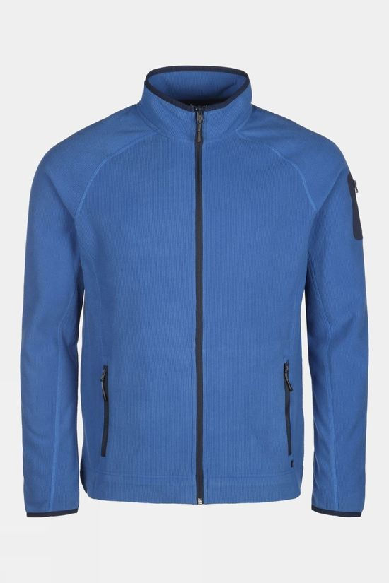 Our Planet Mens Foiba Waffle Fleece True Blue