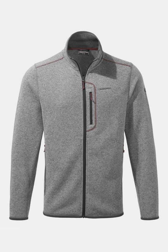 Craghoppers Bronto Fleece Jacket Soft Grey Marl