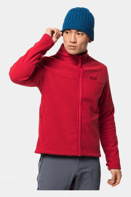Jack Wolfskin Mens Skywind Jacket Red Lacquer