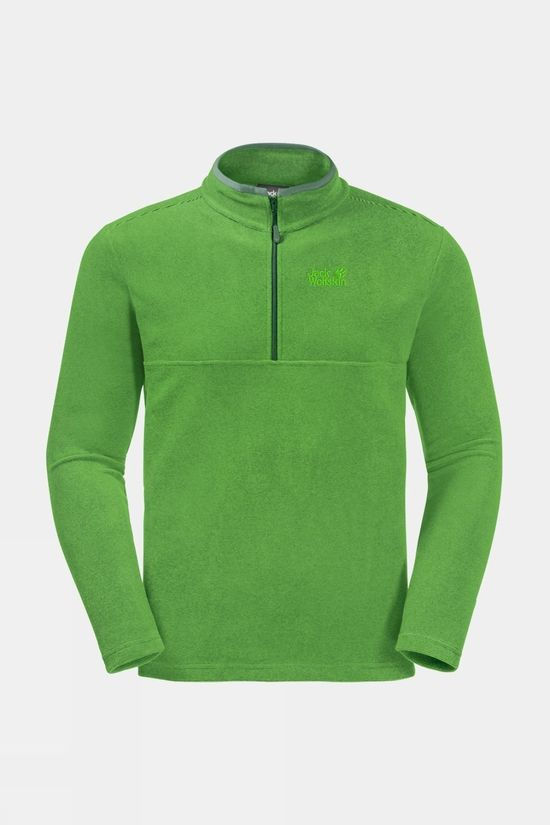 Jack Wolfskin Mens Arco Fleece Sage Stripes