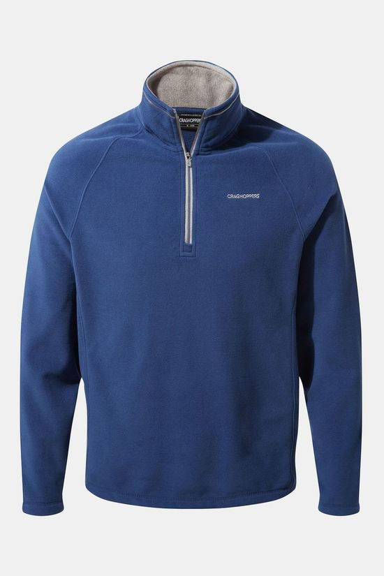 Craghoppers Mens Corey Half Zip Fleece Lapis Blue