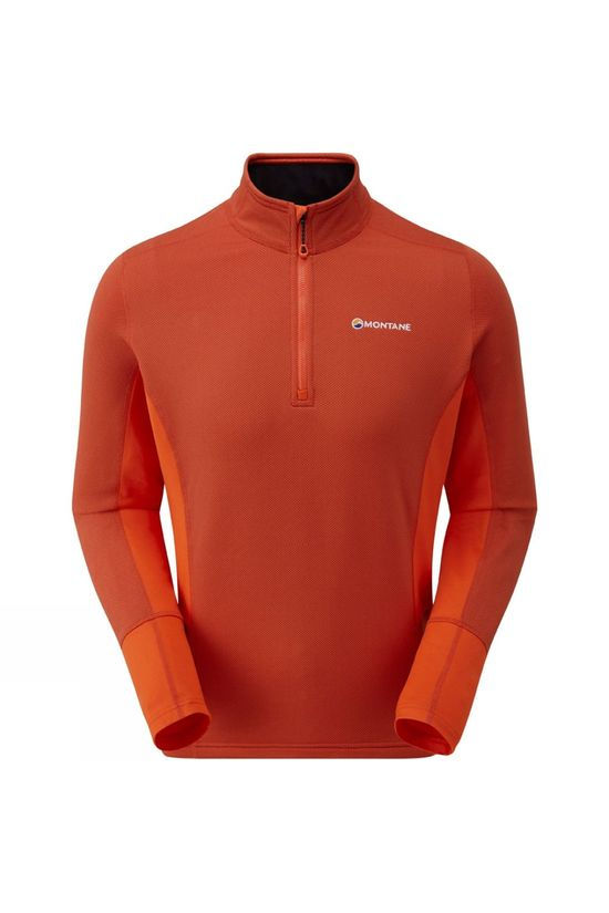 Montane Mens Iridium Hybrid Pull-On Firefly Orange