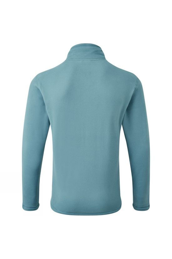 The North Face Mens Cornice II 1/4 Zip Fleece Mallard Blue