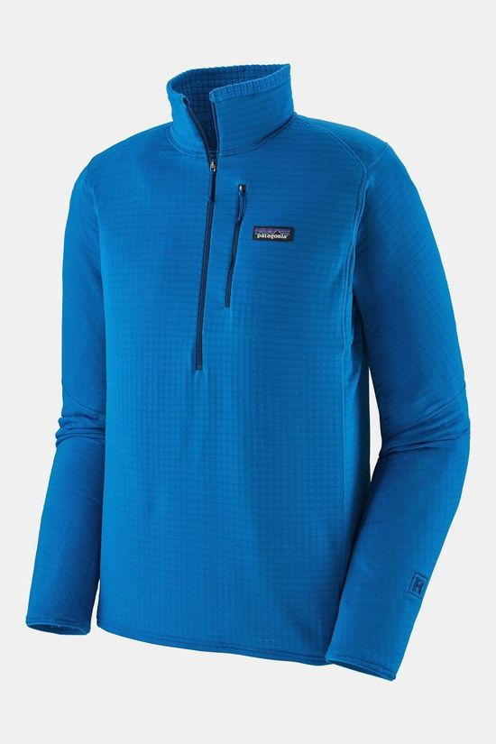 Patagonia Mens R1 Pullover Andes Blue