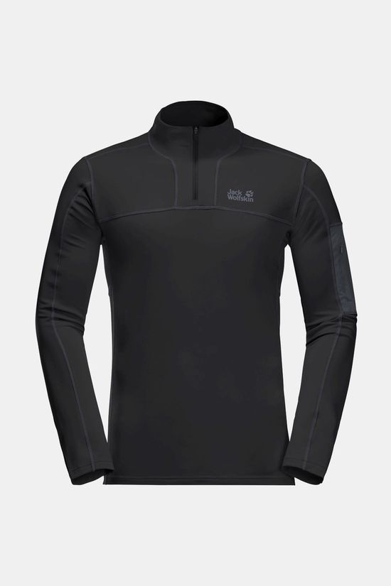 Jack Wolfskin Performance Halfzip Black