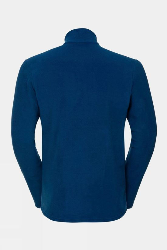 Odlo Mens Berina 1/2 Zip Midlayer Estate Blue