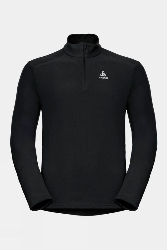 Odlo Mens Berina 1/2 Zip Midlayer Black